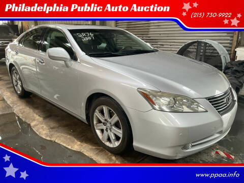2007 Lexus ES 350 for sale at Philadelphia Public Auto Auction in Philadelphia PA