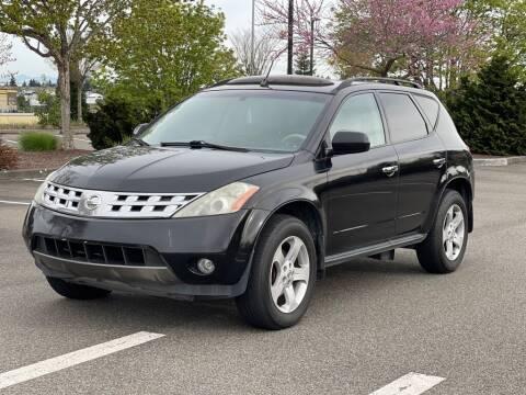 2004 Nissan Murano for sale at Q Motors in Tacoma WA