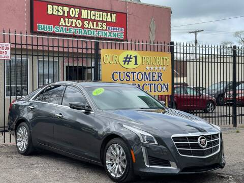 2014 Cadillac CTS for sale at Best of Michigan Auto Sales in Detroit MI
