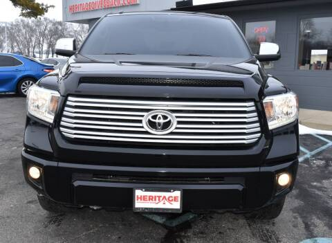 2016 Toyota Tundra for sale at Heritage Automotive Sales in Columbus in Columbus IN