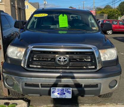 2013 Toyota Tundra for sale at AR's Used Car Sales LLC in Danbury CT