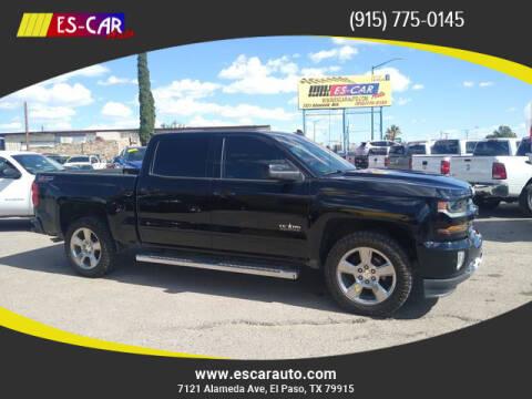 2017 Chevrolet Silverado 1500 for sale at Escar Auto in El Paso TX
