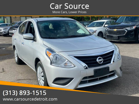 2019 Nissan Versa for sale at Car Source in Detroit MI