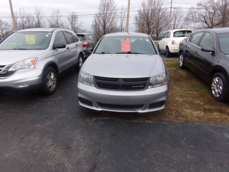 2013 Dodge Avenger for sale at Pool Auto Sales Inc in Spencerport NY