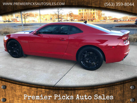 2011 Chevrolet Camaro for sale at Premier Picks Auto Sales in Bettendorf IA