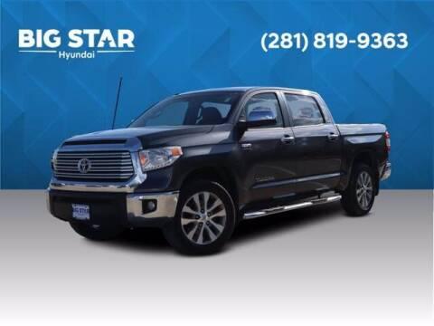2017 Toyota Tundra for sale at BIG STAR HYUNDAI in Houston TX