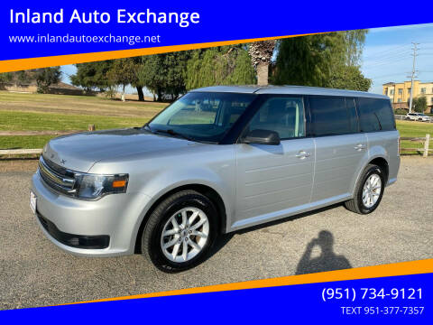 2015 Ford Flex for sale at Inland Auto Exchange in Norco CA