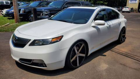 2012 Acura TL for sale at GA Auto IMPORTS  LLC in Buford GA