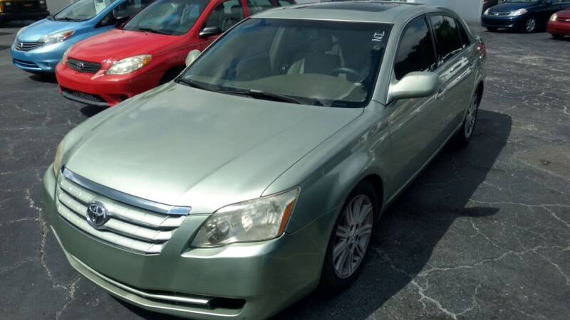 2005 Toyota Avalon for sale at AFFORDABLE AUTO SALES in We Finance Everyone! FL