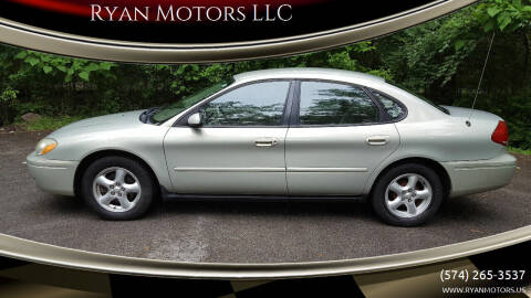 2004 Ford Taurus for sale at Ryan Motors LLC in Warsaw IN