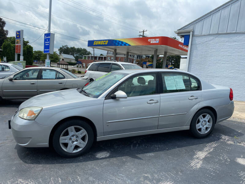 2006 Chevrolet Malibu for sale at Credit Connection Auto Sales Inc. YORK in York PA
