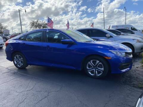 2017 Honda Civic for sale at Mike Auto Sales in West Palm Beach FL