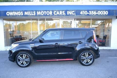 2015 Kia Soul for sale at Owings Mills Motor Cars in Owings Mills MD