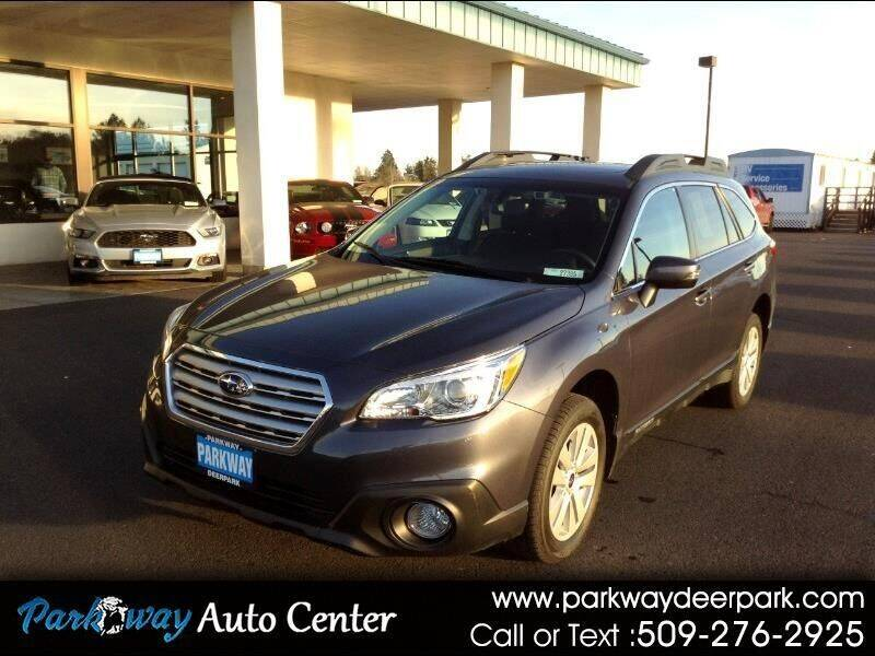 2017 Subaru Outback for sale at PARKWAY AUTO CENTER AND RV in Deer Park WA