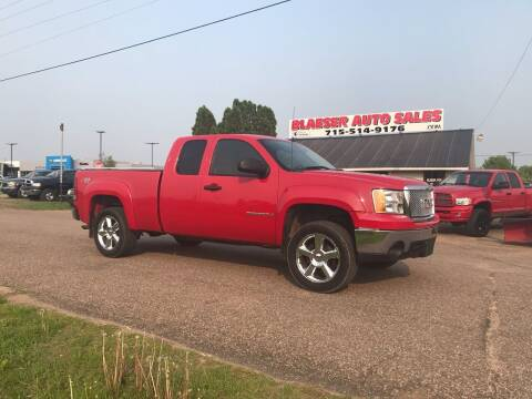 2007 GMC Sierra 1500 for sale at BLAESER AUTO LLC in Chippewa Falls WI