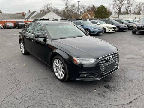 2013 Audi A4 for sale at Auto Sport INC in Grand Rapids MI