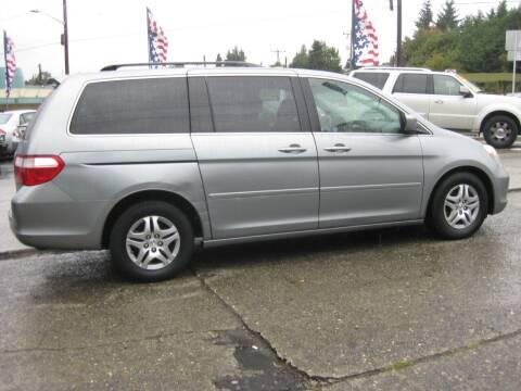 2007 Honda Odyssey for sale at UNIVERSITY MOTORSPORTS in Seattle WA