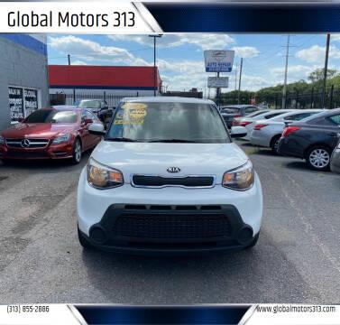 2015 Kia Soul for sale at Global Motors 313 in Detroit MI