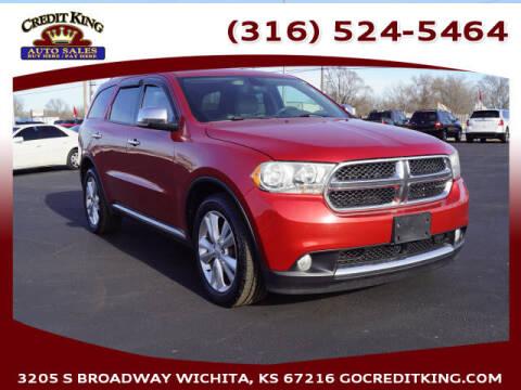 2011 Dodge Durango for sale at Credit King Auto Sales in Wichita KS