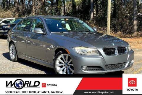 2011 BMW 3 Series for sale at CU Carfinders in Norcross GA
