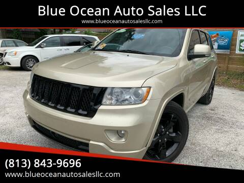 2011 Jeep Grand Cherokee for sale at Blue Ocean Auto Sales LLC in Tampa FL