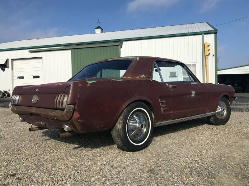 1966 Ford Mustang for sale at 500 CLASSIC AUTO SALES in Knightstown IN