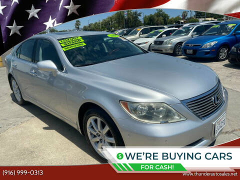 2008 Lexus LS 460 for sale at Thunder Auto Sales in Sacramento CA