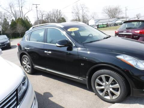2017 Infiniti QX50 for sale at Dave's Car Corner in Hartford City IN