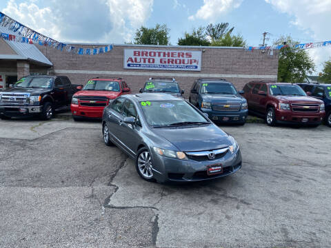 2009 Honda Civic for sale at Brothers Auto Group in Youngstown OH