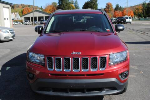 2014 Jeep Compass for sale at Susquehanna Auto in Oneonta NY