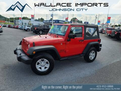 2016 Jeep Wrangler for sale at WALLACE IMPORTS OF JOHNSON CITY in Johnson City TN