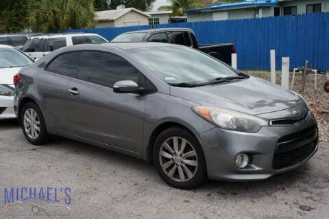 2014 Kia Forte Koup for sale at Michael's Auto Sales Corp in Hollywood FL