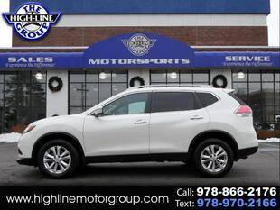 2016 Nissan Rogue for sale at Highline Group Motorsports in Lowell MA