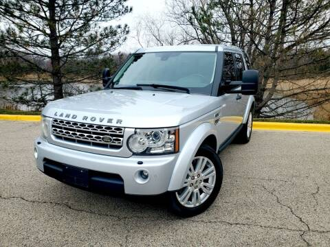 2010 Land Rover LR4 for sale at Excalibur Auto Sales in Palatine IL