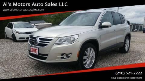 2009 Volkswagen Tiguan for sale at Al's Motors Auto Sales LLC in San Antonio TX
