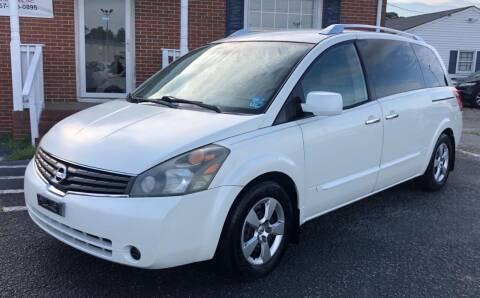 2007 Nissan Quest for sale at Carland Auto Sales INC. in Portsmouth VA