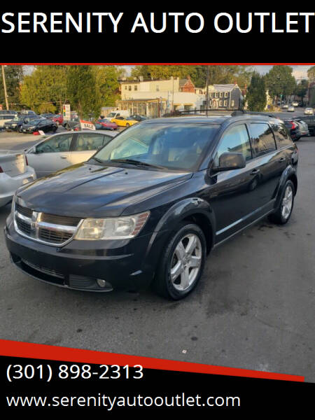 2009 Dodge Journey for sale at SERENITY AUTO OUTLET in Frederick MD