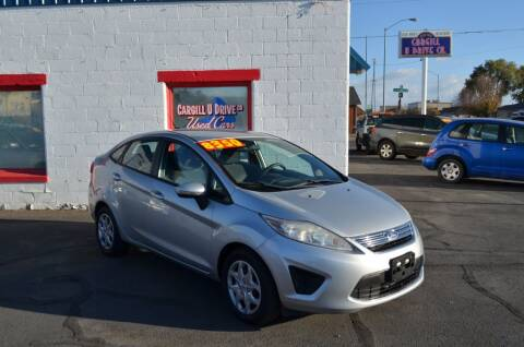 2013 Ford Fiesta for sale at CARGILL U DRIVE USED CARS in Twin Falls ID