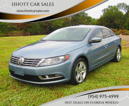 2013 Volkswagen CC for sale at HHOTT CAR SALES in Deerfield Beach FL