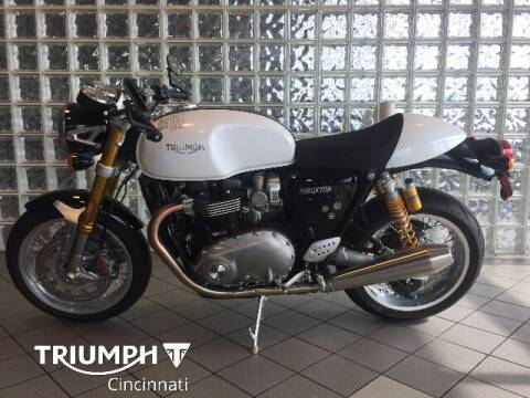 2018 Triumph Thruxton for sale at TRIUMPH CINCINNATI in Cincinnati OH