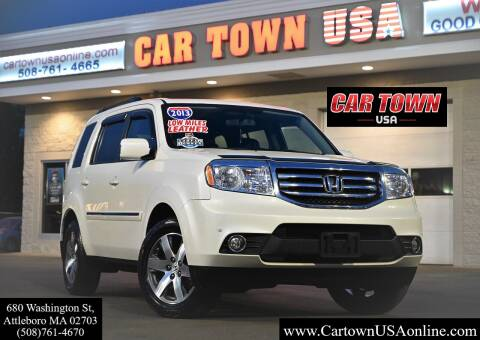 2013 Honda Pilot for sale at Car Town USA in Attleboro MA
