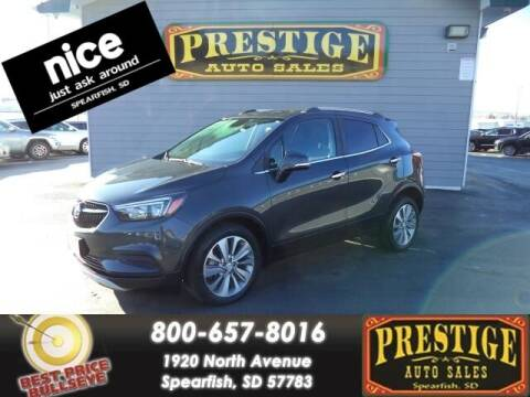 2017 Buick Encore for sale at PRESTIGE AUTO SALES in Spearfish SD