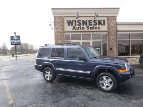 2010 Jeep Commander for sale at Wisneski Auto Sales, Inc. in Green Bay WI