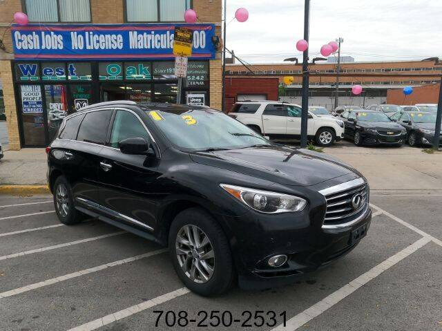 2013 Infiniti JX35 for sale at West Oak in Chicago IL