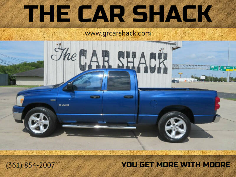 2008 Dodge Ram Pickup 1500 for sale at The Car Shack in Corpus Christi TX