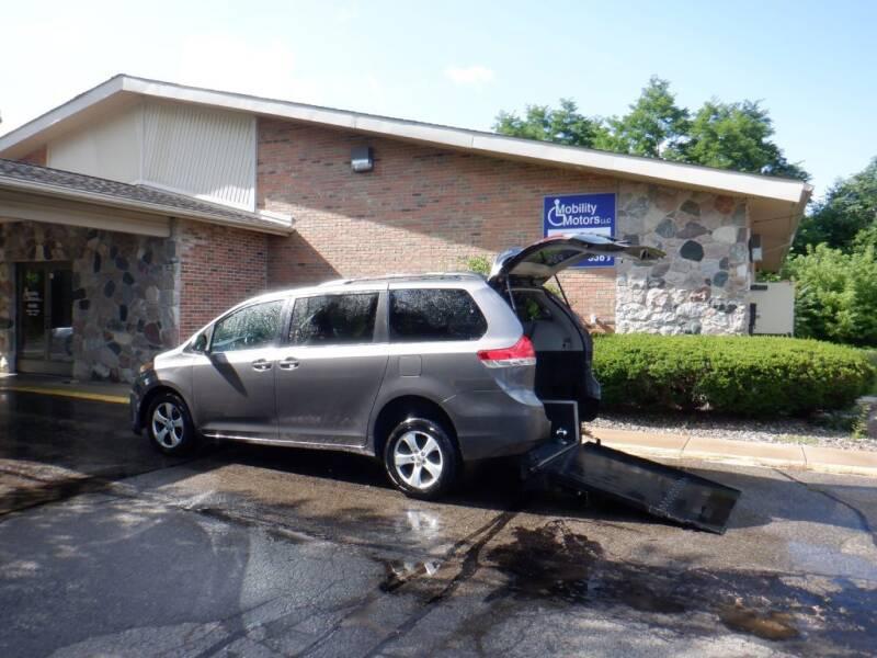 2011 Toyota Sienna for sale at Mobility Motors LLC - A Wheelchair Van in Battle Creek MI