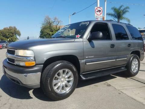 2001 Chevrolet Tahoe for sale at Olympic Motors in Los Angeles CA