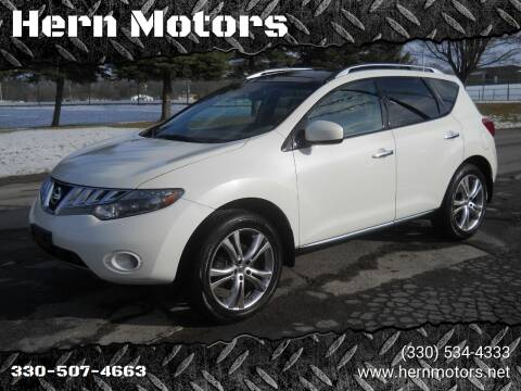 2010 Nissan Murano for sale at Hern Motors - 111 Hubbard Youngstown Rd Lot in Hubbard OH