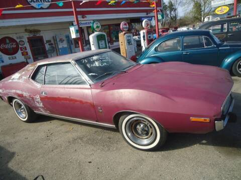 1973 AMC Javelin for sale at Marshall Motors Classics in Jackson Michigan MI