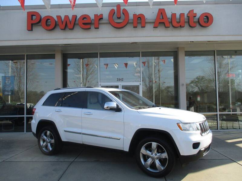 2013 Jeep Grand Cherokee for sale at Power On Auto LLC in Monroe NC